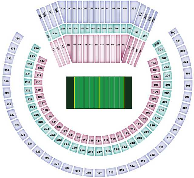 Oakland Raiders Seating Chart for O.Co Coliseum